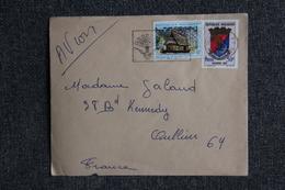 Lettre De MADAGASCAR à FRANCE - Madagaskar (1960-...)
