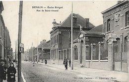 Denain 1921 Rue De Saint Amand (ecoles Sevigne) - Denain