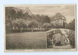 U883/ Frankfurt - Süd  Städt. Krankenhaus AK 1929 - Unclassified