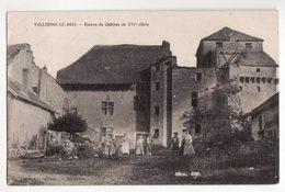 70  VALLEROIS LE BOIS   Ruines Du Château - Other Municipalities
