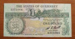 1991/95 ND - Guernesey - Guernsey - ONE POUND - E571064 - Guernesey
