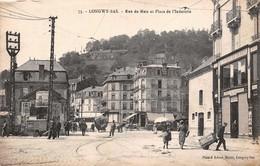 (54) Longwy Bas - Rue De Metz Et Place De L'Industrie 1919 - Longwy
