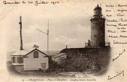 Phare Et Sémaphore  -   Granville - Granville