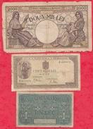 Roumanie 6 Billets Usagés - Rumania