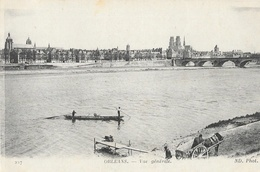 Orléans (Loiret) - Vue Générale Des Bords De La Loire, Barque - Carte ND Phot. N° 227 - Orleans
