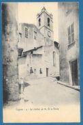 CAGNES LE CLOCHER DE N.D. LA DOREE 1905 - Cagnes-sur-Mer