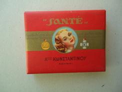 GREECE EMPTY TOBACCO BOXES IN DRACHMAS  SANTE CONSTANTINOU - Boites à Tabac Vides