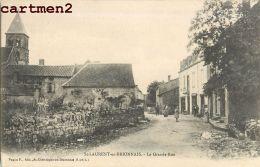 SAINT-LAURENT-EN-BRIONNAIS LA GRANDE RUE 71 - Francia