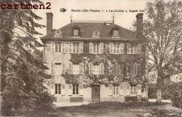 """NOUIC """" LA JUSTINE """" MANOIR VILLA FACADE SUD 87 HAUTE-VIENNE - Francia"""
