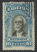 Liberia, 10 C. 1903, Sc # F10, Mi # 82, Used - Liberia