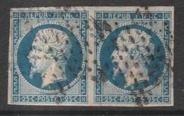 France, Louis-Napoléon 20c., Very Nice Pair, 1852 , FU - 1852 Louis-Napoleon