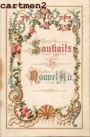 CALENDRIER SPIRITUEL A VOLET XIXeme : RELIGION IMAGE PIEUSE CANIVET SANTINI - Petit Format : ...-1900