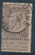 """BELGIE - OBP Nr 61 - Leopold II - Cachet  """"FLEURUS"""" - (ref. ST 675) - 1893-1900 Thin Beard"""
