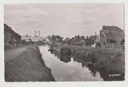 CPSM 80 HAM Le Canal Et La Sucrerie D' Eppeville - Ham