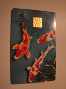 1 Chip Phonecard From Indonesia - Fishes - Indonesia
