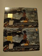 2 Chip Phonecard From Indonesia - Recycle - Indonesia
