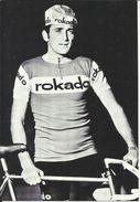 "Coureur Cycliste De L'équipe Allemande "" ROKADO "" , Gilbert BELLONE , Né Le 27/12/1942 En France - Cyclisme"