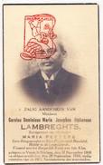 DP Foto Burgemeester Carolus D. Lambreghts ° Vorst 'St.-Niklaas' Laakdal 1868 † 1934 X M. Peeters - Devotion Images