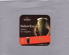 Sous Bocks - GUINESS - Hallow' Eve - Beer Mats