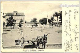 MACEIÓ - Praça Da Cathedral  ( Ed.Livraria Fonseca) Carte Postale - Maceió