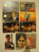 9 Chip Phonecards From Indonesia - People - Indonesia