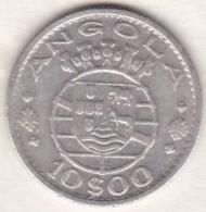 Colonie Portugaise, Angola, 10 Escudos 1955. Argent . KM# 73 - Angola