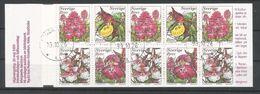 Sweden 1999 Orchids Booklet Y.T. C 2096 (0) - 1981-..