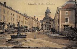 (54) Badonviller - Rue Gambetta - Autres Communes