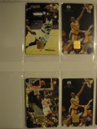 4 Chip Phonecards From Indonesia - Basketball - Indonesia