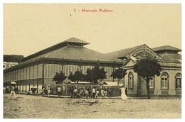 RECIFE - FEIRAS E MERCADOS - Mercado Publico ( Ed. M. Nogueira Nº 3)  Carte Postale - Recife