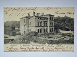 FRANCIA GERMANIA HAGENAU Haguenau Lazareth Verwaltungsgebaude AK Old Postcard - Haguenau