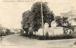 CPA - CORNE (49) - Aspect De L'entrée Du Bourg En 1939 - Francia