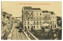RECIFE - Jardim Maciel Pinheiro E Rua Visconde De Pelotas ( Ed. M. Nogueira Nº 10)  Carte Postale - Recife