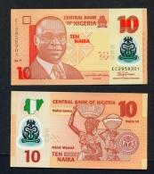NIGERIA  -  2017  10 Naira  Polymer  UNC Banknote - Nigeria