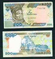 NIGERIA  -  2017  200 Naira  UNC Banknote - Nigeria