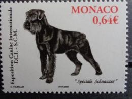 MONACO 2006 Y&T N° 2538 ** - EXPOSITION CANINE INTERNATIONALE - Monaco