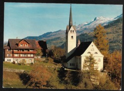 TRUN GR Surselva Wallfahrtskirche Maria Licht Nossadunna Dellla Glisch 1991 - GR Grisons