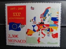 MONACO 2006  Y&T N° 2581 ** - 30e ANNIV. DE L'ACADEMIE EUROPEENNE DE PHILATELIE - Monaco