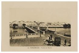 PERNAMBUCO - Ponte Do Recife. ( Nº 13) Carte Postale - Recife