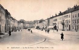 (54) Baccarat - La Rue Des Ponts Avant Guerre - Baccarat