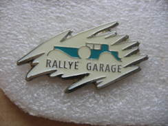 Pin's Rallye Garage - Pins