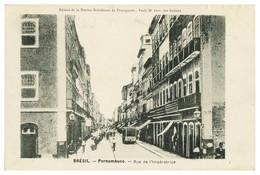 PERNAMBUCO - Rue De L'imperatrice. Carte Postale - Recife
