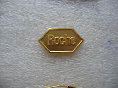 """Pin's Embleme De La Sté Pharmaceutique """"ROCHE"""" - Medici"""