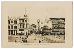 PERNAMBUCO -Praça Da Independencia. ( Nº 6) Carte Postale - Recife