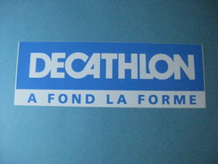 Autocollant Anciens : DECATHLON à Fond La Forme - Autocollants