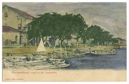PERNAMBUCO - Caes Do Rio Capibaribe . ( Ed. Ramiro M. Costa) Carte Postale - Recife