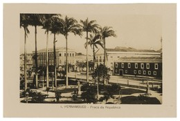 PERNAMBUCO -Praça Da Republica . ( Nº 1) Carte Postale - Recife