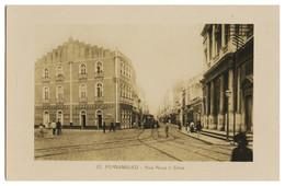 PERNAMBUCO - Rua Rosa E Silva  . ( Nº 12) Carte Postale - Recife