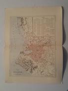 Carte Du XIX ème - Plan De Marseille Par Malte Brun - Gravé Par Erhard - Rouff éditeur - Cartes Géographiques