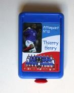 Thierry Henry équipe De France Football Mini Flipper Publicitaire KELLOGG'S - Habillement, Souvenirs & Autres